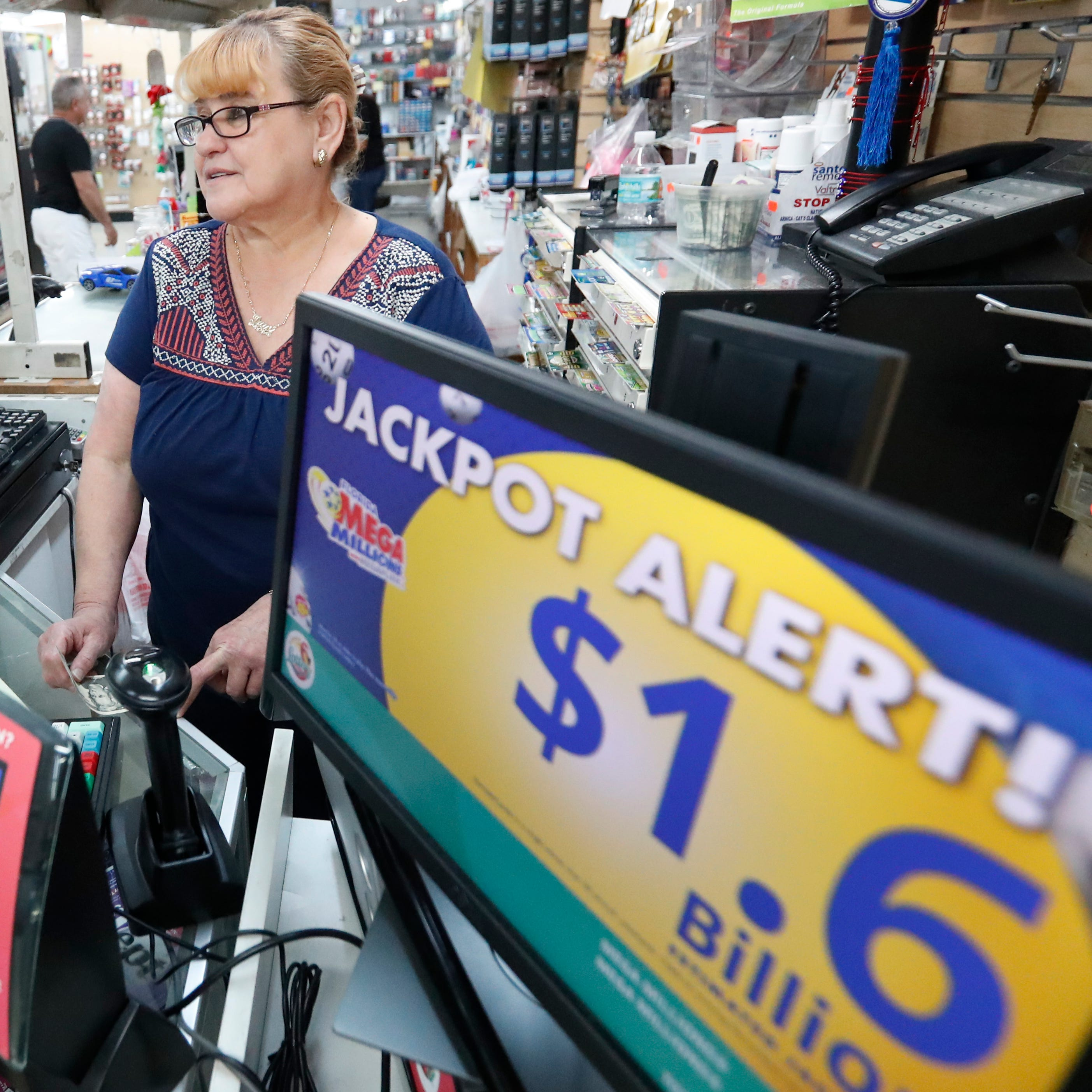 $100,000 Powerball ticket sold in Lewes; $1.6 billion Mega Millions drawing slated for Tuesday