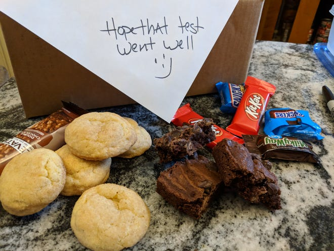 Spread some love to your college student with a home-baked care package