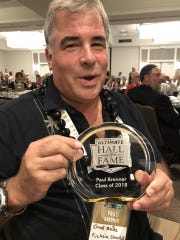 Paul Brenner was inducted into the Ultimate Hall of Fame as a member of the Class of 2018 during a ceremony in San Diego.