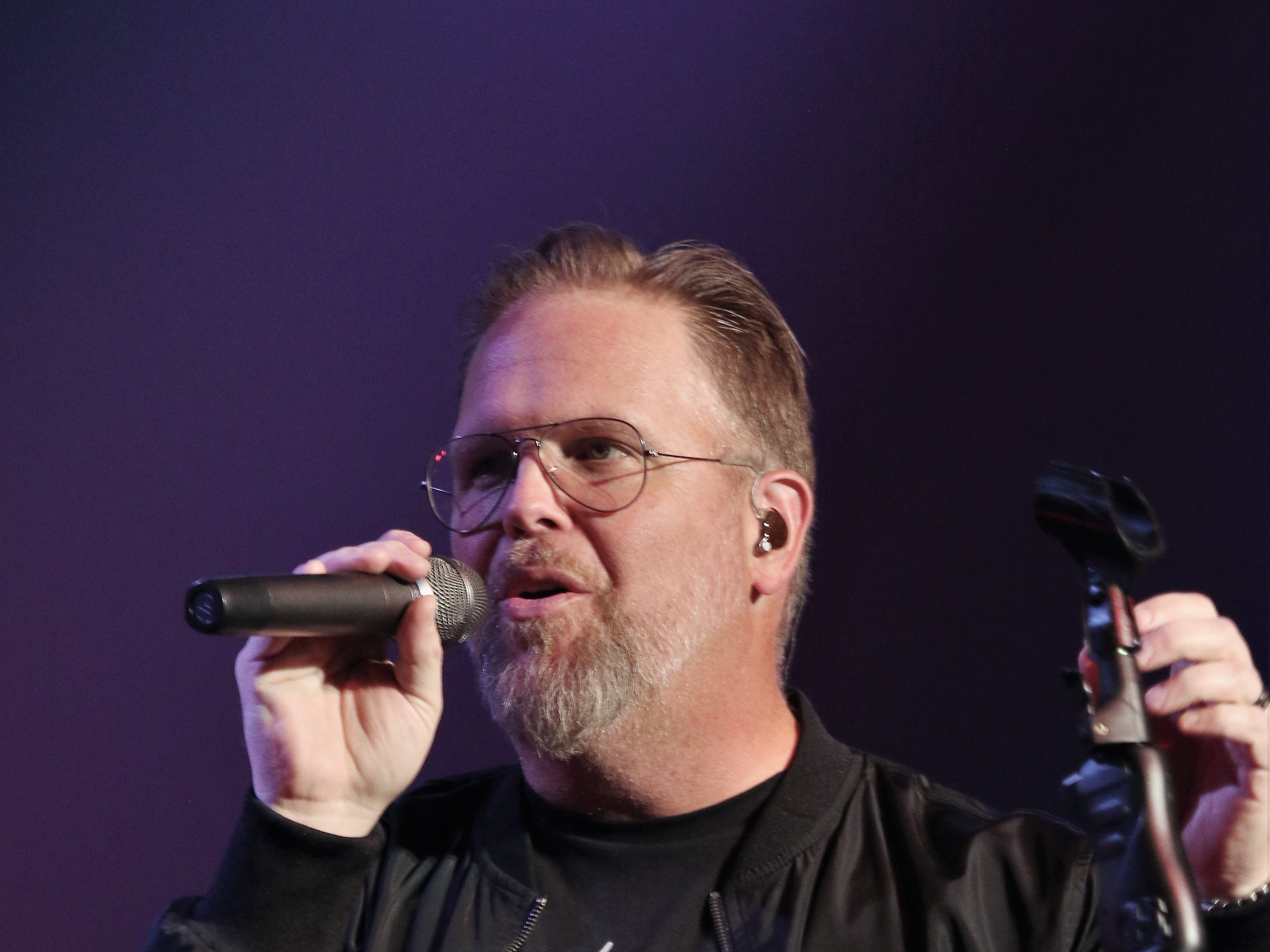MercyMe performed Oct. 18, 2018, at the 21st annual Union University Scholarship Banquet at the Carl Perkins Civic Center in downtown Jackson.