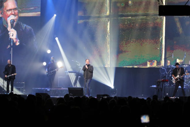 MercyMe performed Oct. 18 at the 21st annual Union University Scholarship Banquet at the Carl Perkins Civic Center.