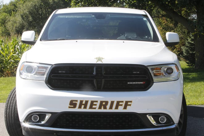 Two people in a minivan died late Monday morning when their van struck a semi head on while driving westbound on Indiana 26 in Clinton County.