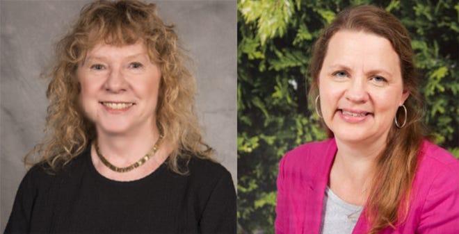 District 4 candidates Republican Vicki Burch, left, and Democrat Lisa Dullum.