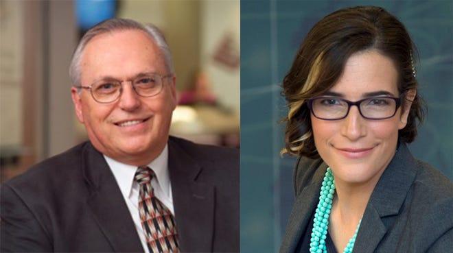 District 1 candidates Republican David Williams and Democrat Ilana Stonebraker.