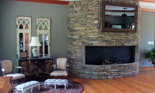 The hunting lodge is luxurious  and accommodates frequent guests.
