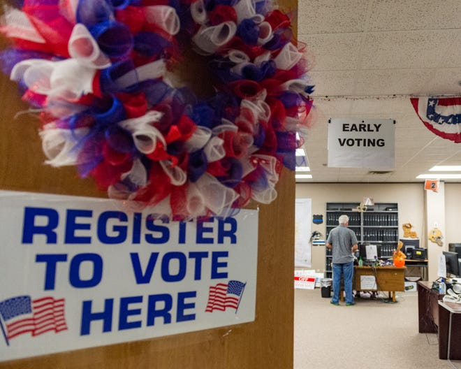 Early voting begins in Lafayette Parish. Tuesday, Oct. 23, 2018.