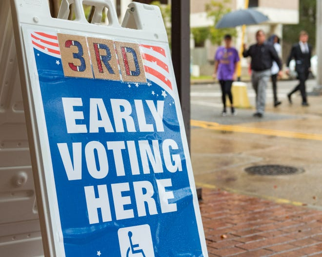 Eleven thousand voters in Lafayette Parish voted early for the Nov. 6, 2018, election.