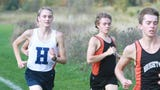 Hartland's Riley Hough is the first freshman in Livingston County history to break 16 minutes for 5K cross country.