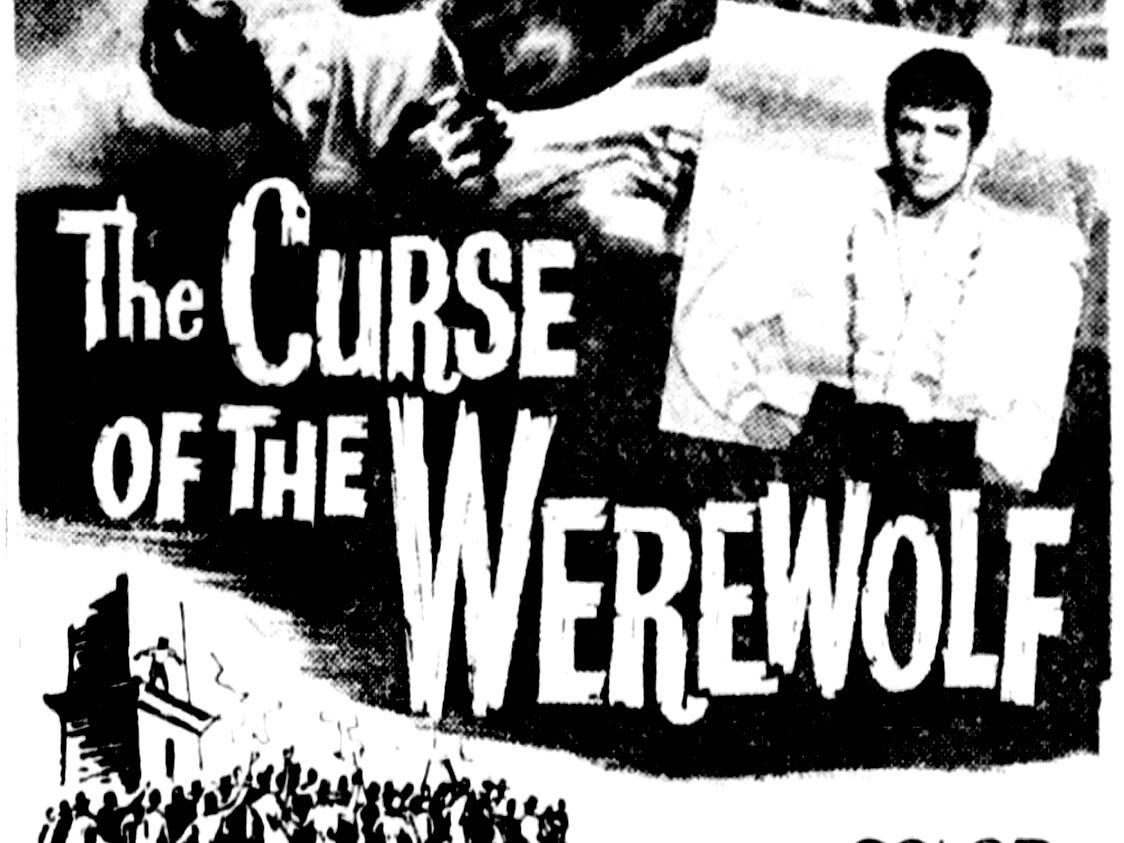 """The Curse of the Werewolf,"" Thursday, June 8, 1961"