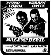 """""""Race With The Devil,"""" Friday, Aug. 1, 1975"""