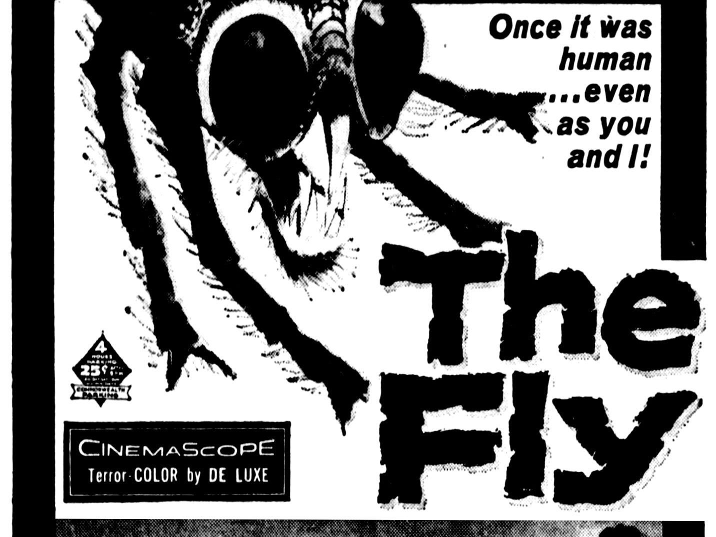 """""""The Fly,"""" Thursday, Aug. 7, 1958"""