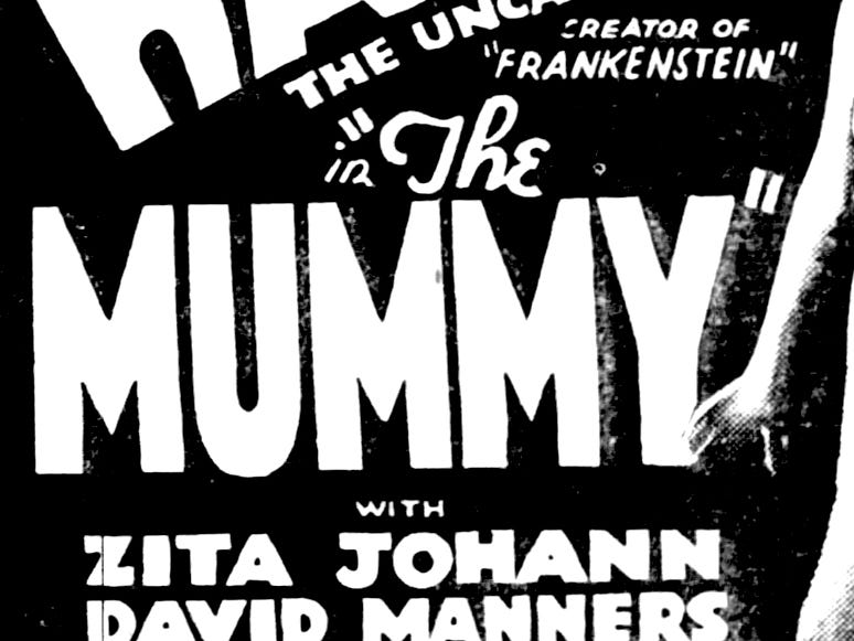 """The Mummy,"" Sunday, Mar. 5, 1933"