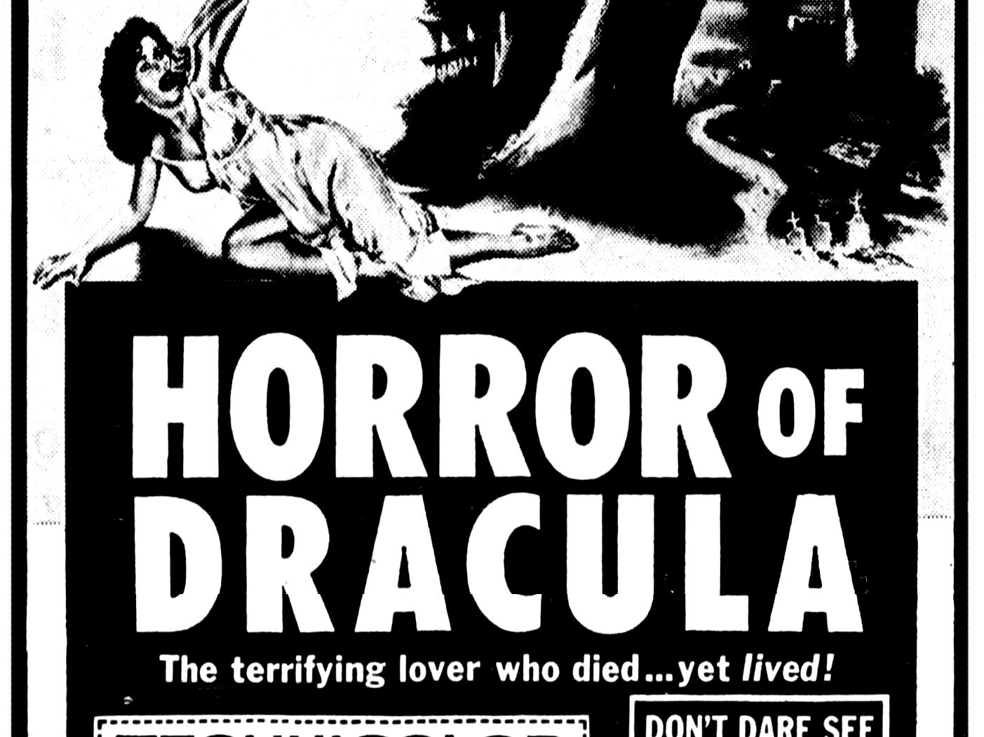 """""""Horror of Dracula,"""" Friday, June 6, 1958"""