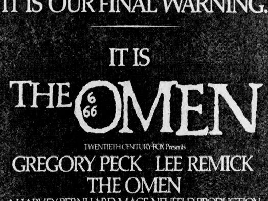 """""""The Omen,"""" Friday, June 25, 1976"""