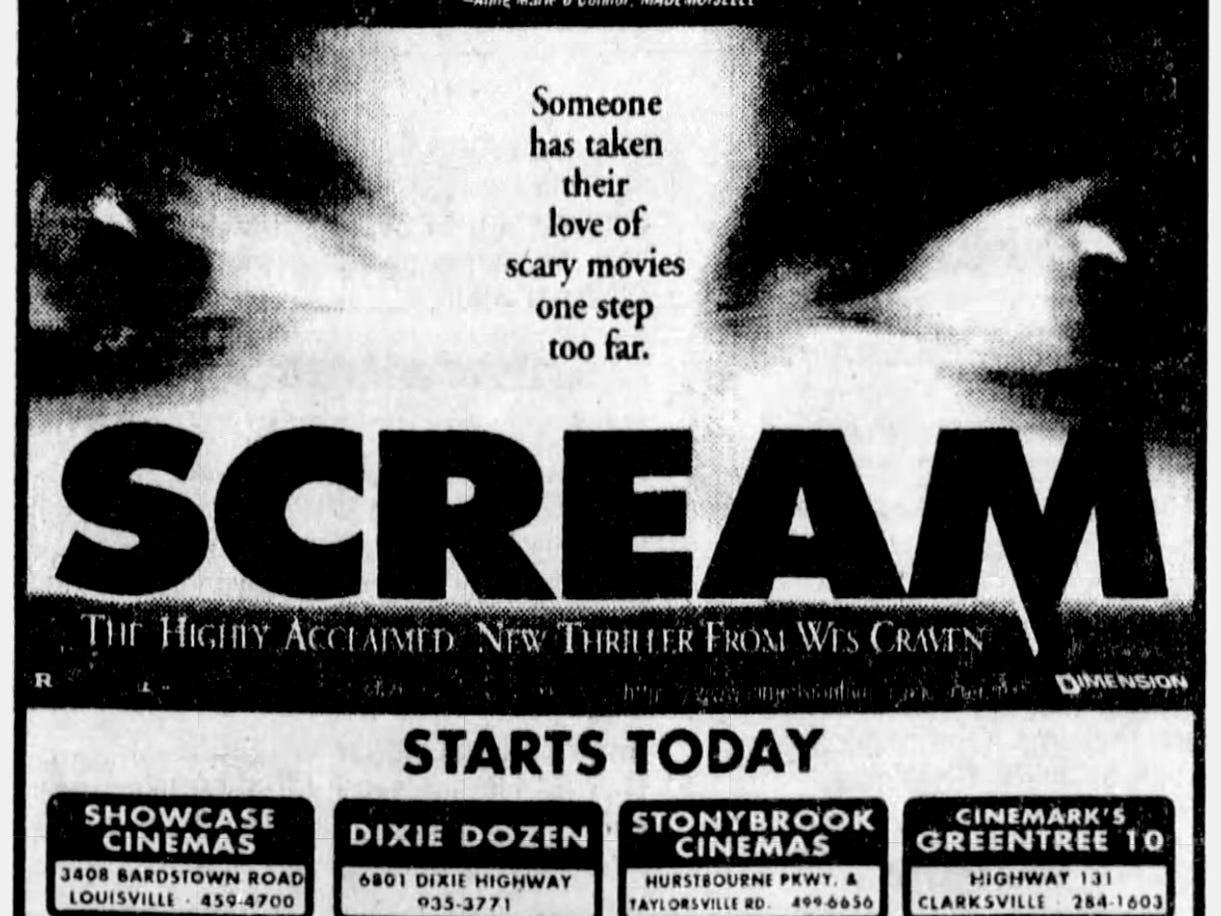 """""""Scream,"""" Friday, Dec. 20, 1996"""
