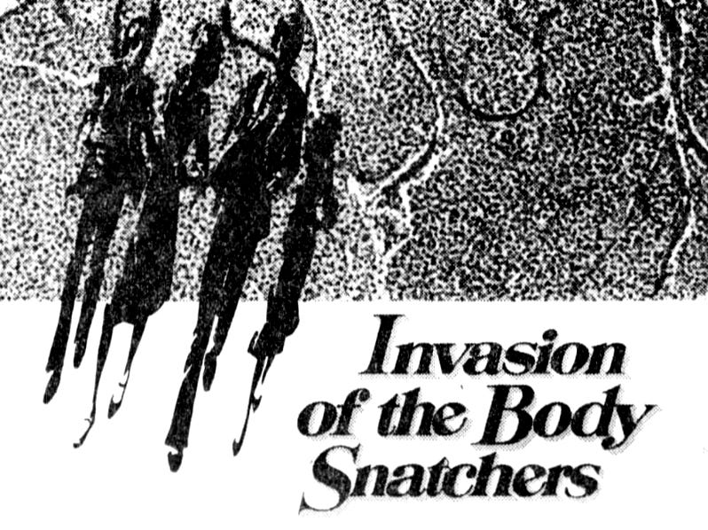 """""""Invasion of the Body Snatchers,"""" Friday, Dec. 22, 1978"""