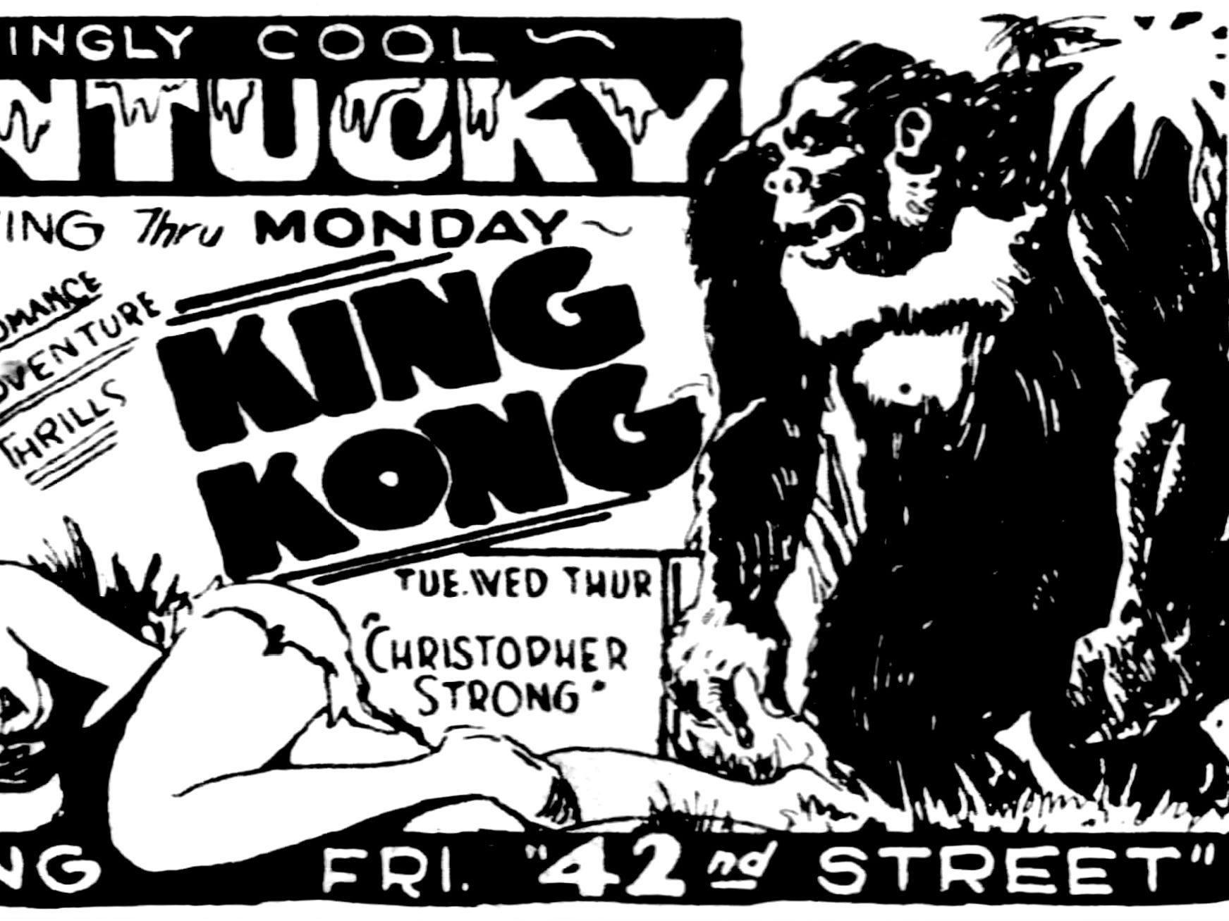 """King Kong,"" Saturday, June 3, 1933"
