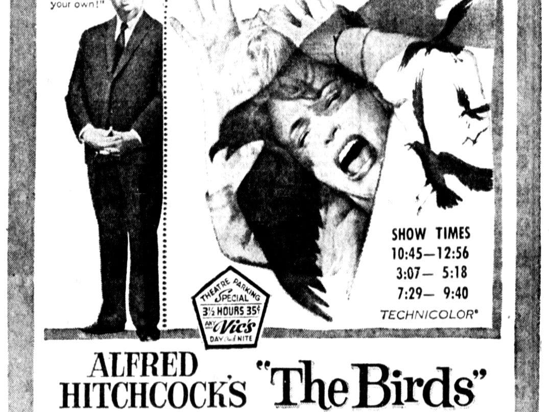 """""""The Birds,"""" Friday, May 10, 1963"""