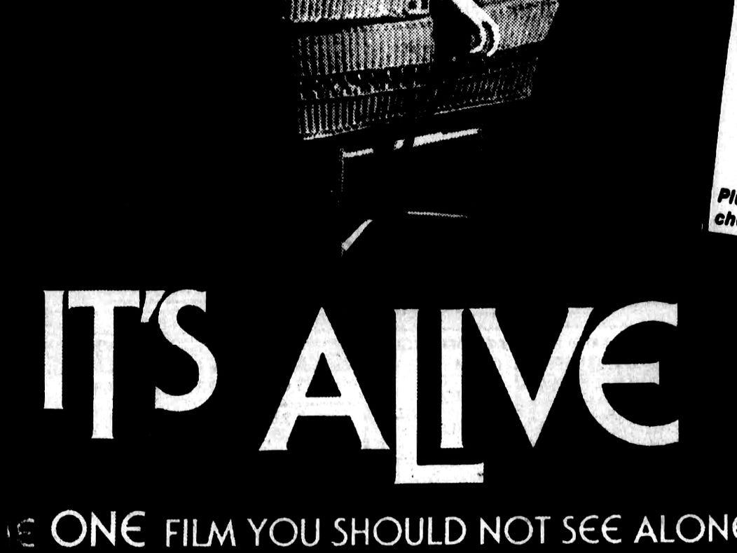 """It's Alive,"" Wednesday, June 8, 1977"