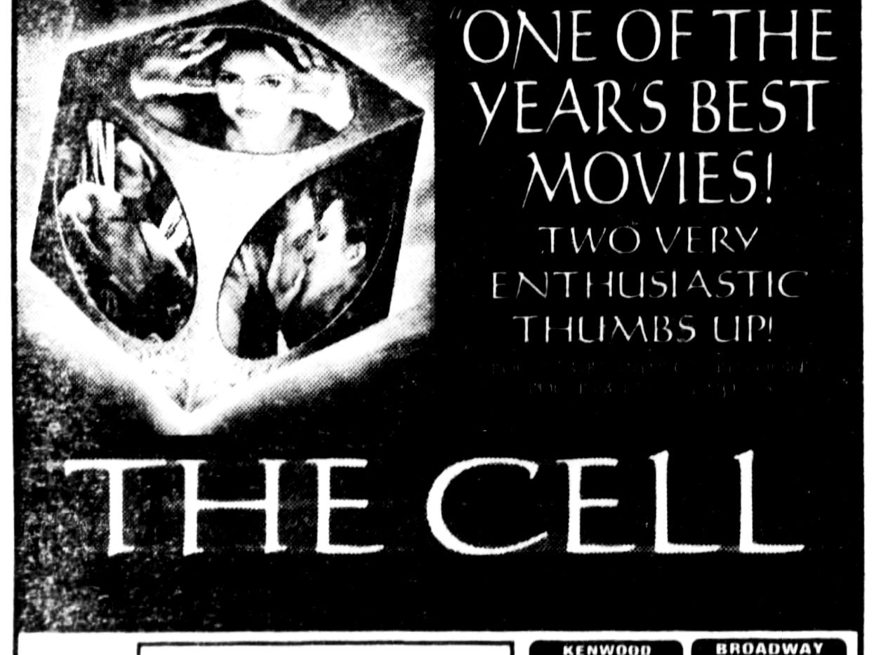 """""""The Cell,"""" Friday, Aug. 18, 2000"""