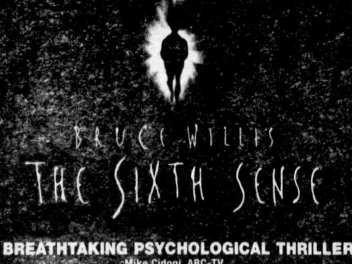 """The Sixth Sense,"" Friday, Aug. 6, 1999"