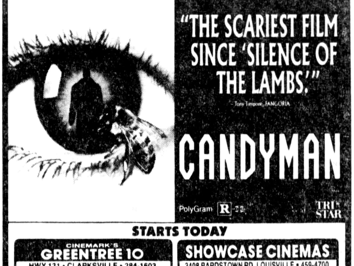 """Candyman,"" Friday, Oct. 16, 1992"