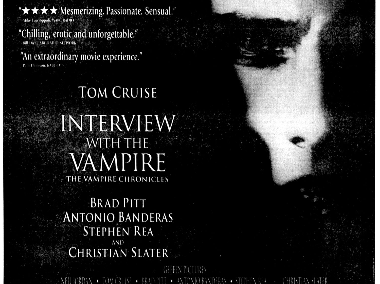 """""""Interview With The Vampire,"""" Friday, Nov. 11, 1994"""