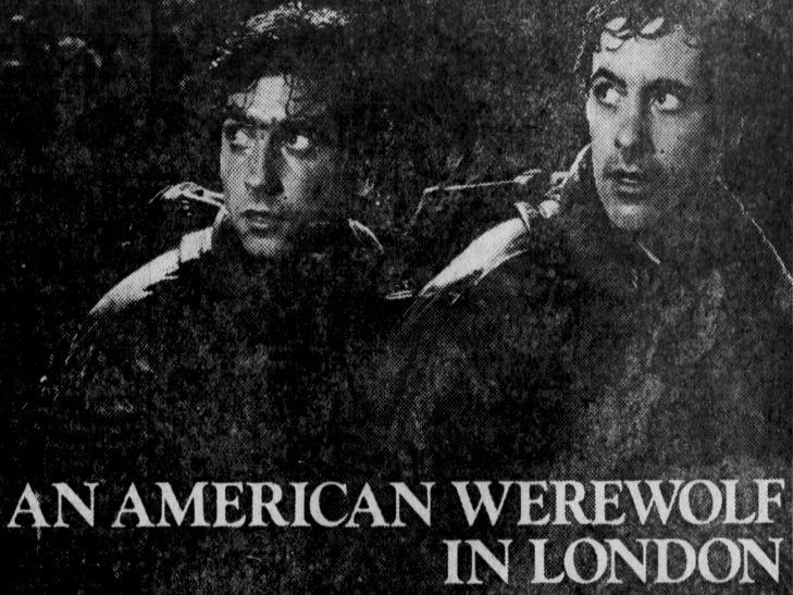 """American Werewolf in London,"" Friday, Aug. 21, 1981"