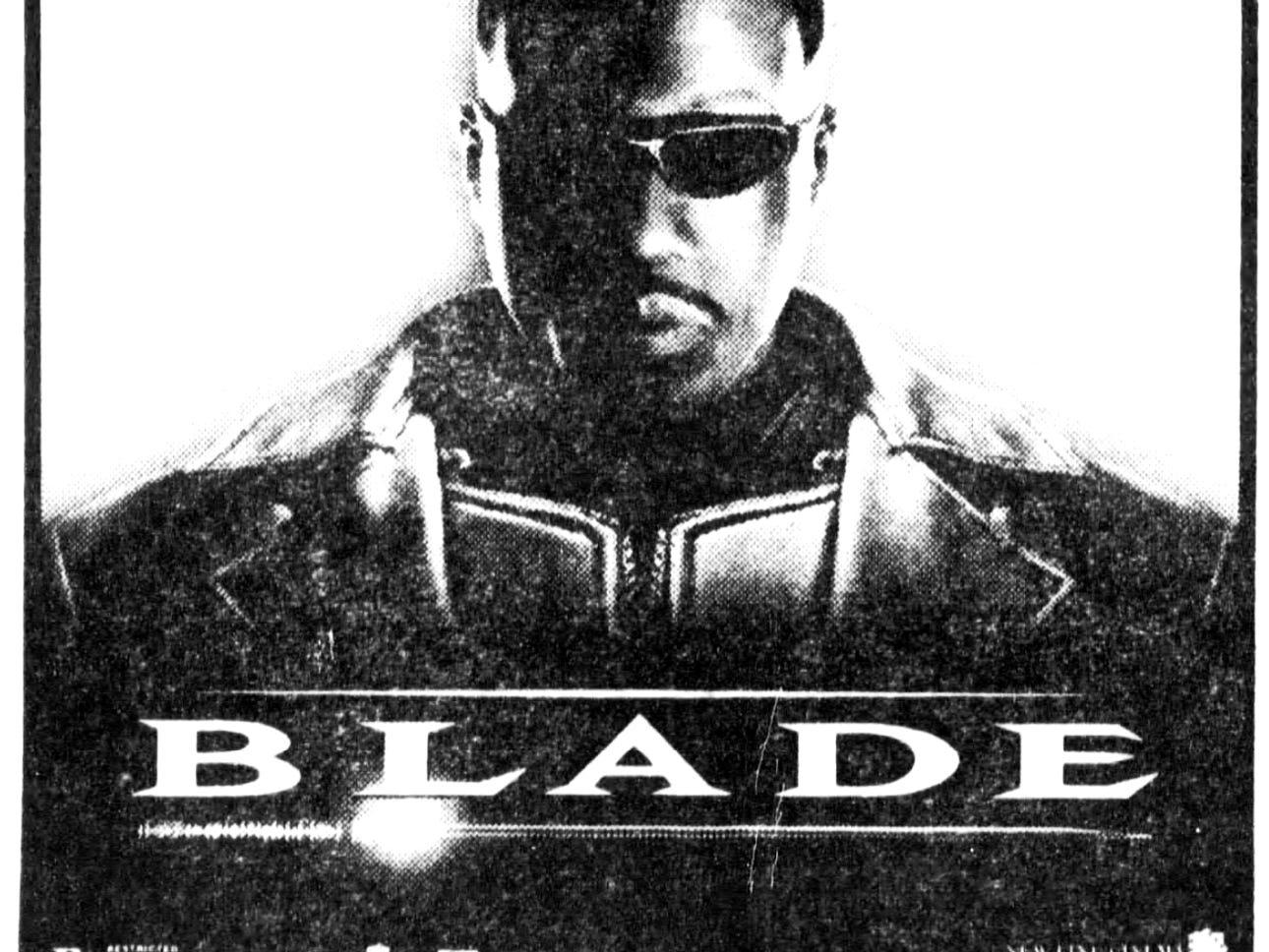 """Blade,"" Friday, Aug. 21, 1998"