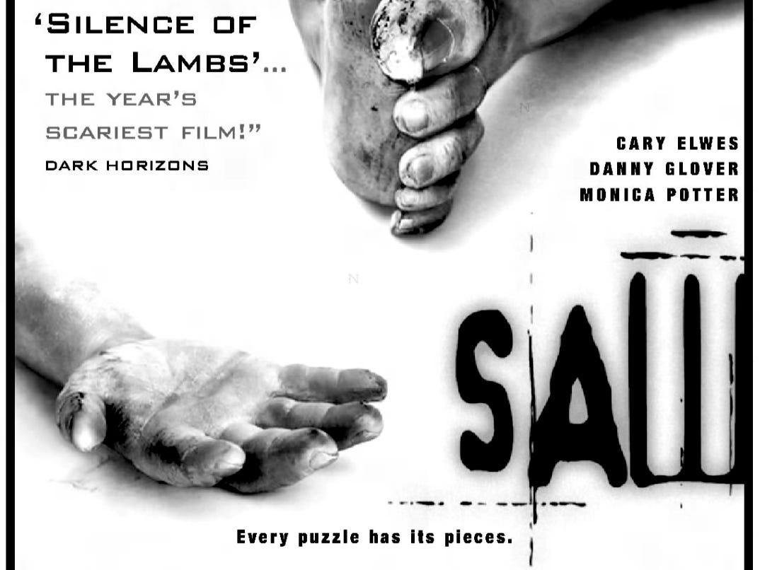 """Saw,"" Friday, Oct. 29, 2004"