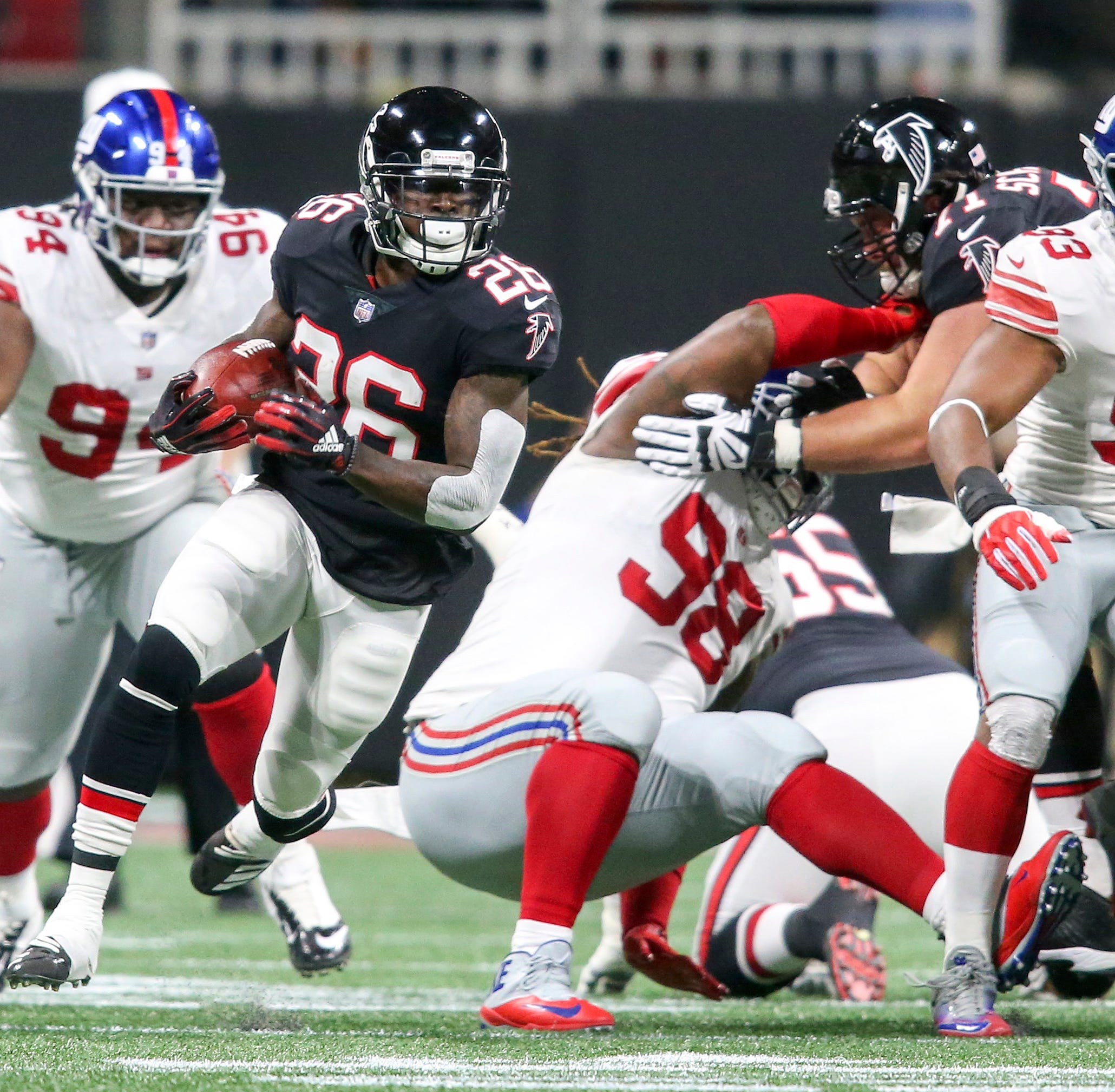 Tevin Coleman and more local players shine in Week 7 of the NFL season
