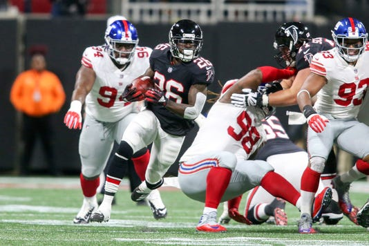 Nfl New York Giants At Atlanta Falcons