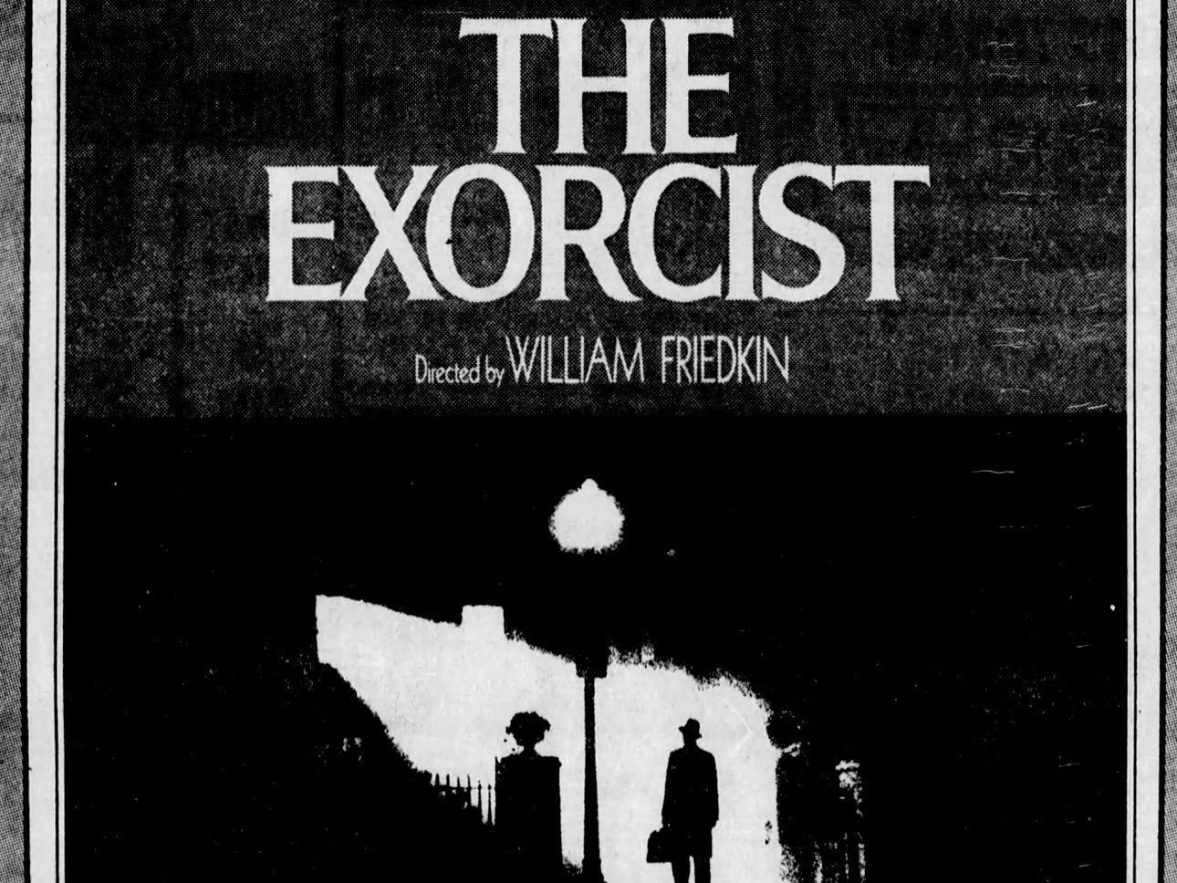 """The Exorcist,"" Wednesday, Feb. 13, 1974"