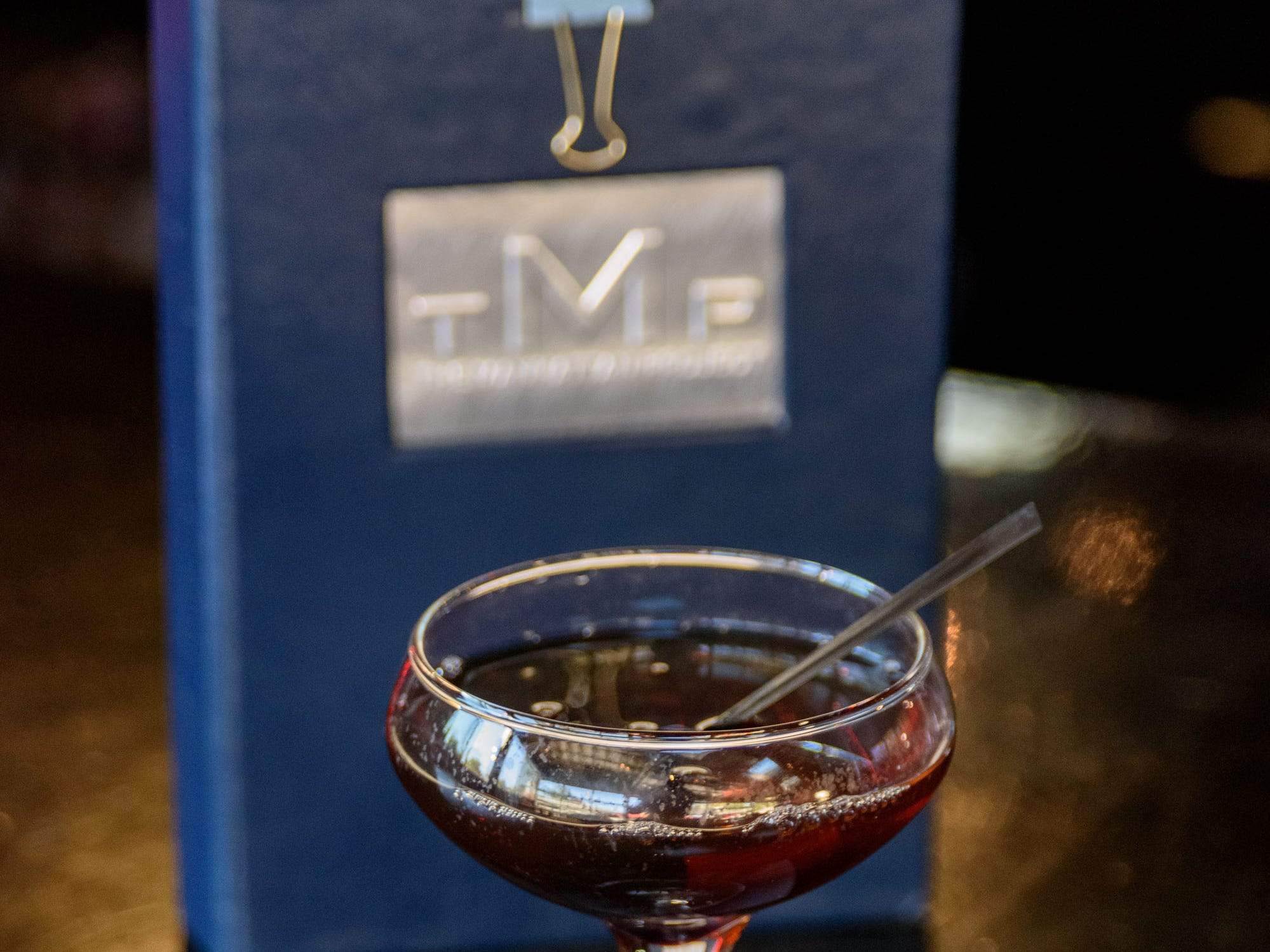 The TMP #7 Cocktail at The Manhattan Project at 2101 Frankfort Ave. Oct. 18, 2018