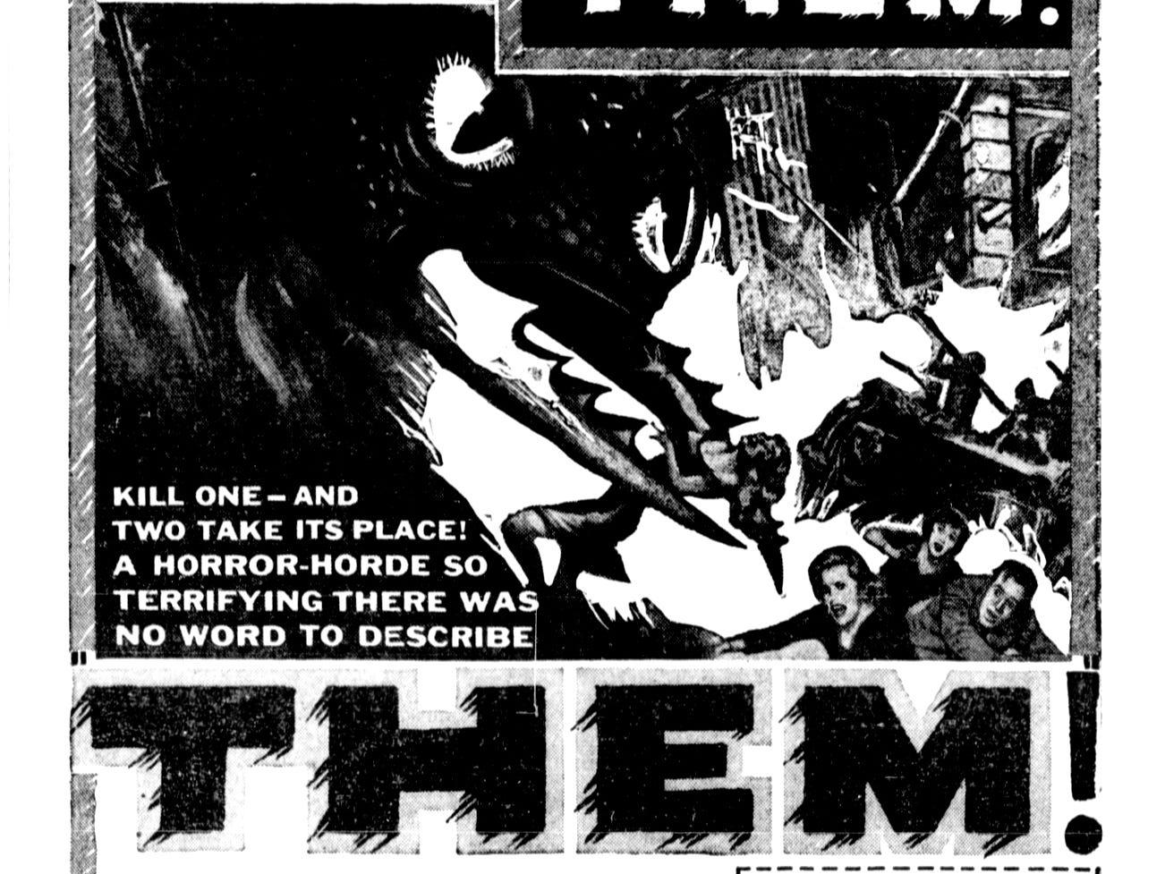 """""""Them!"""" Thursday, June 17, 1954"""
