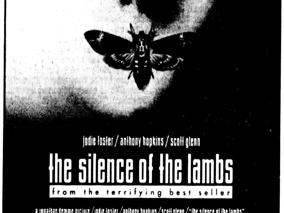 """The Silence of the Lambs,"" Thursday, Feb. 14, 1991"