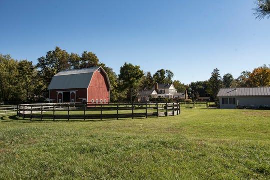 A view behind the Demmer farmhouse.