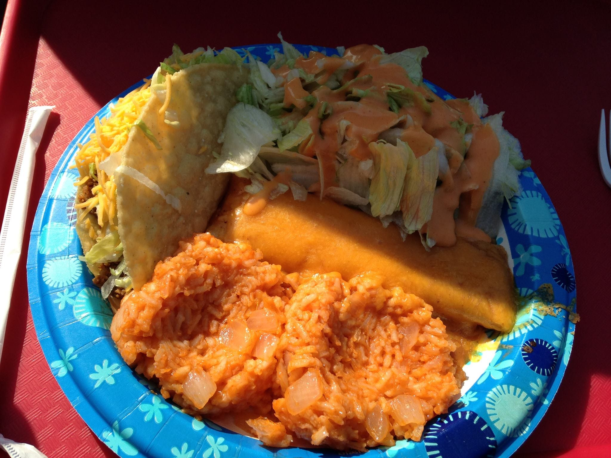 Taco House in Traverse City is considered by Karen Wilcox a tasty alternative to Mr. Taco in south Lansing. Karen Wilcox, a Lansing resident, said Taco House's cheese enchiladas taste the same as those from Mr. Taco.