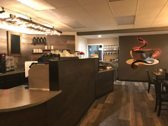 At Clairmont's Coffee, opening next month at 127 N. Clinton Avenue in downtown St. Johns, business partners Audie Clairmont and Amber Haubert say the focus will be on creating a positive, creative environment.