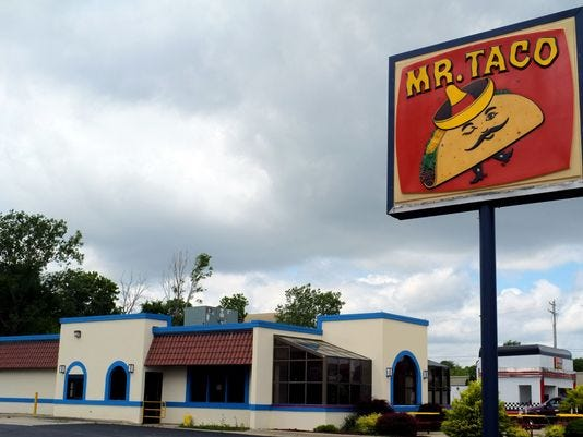 There were once four Mr. Taco restaurant locations open in the Lansing area. Now there's only one. It's located at 3124 S. Martin Luther King Jr. Blvd.