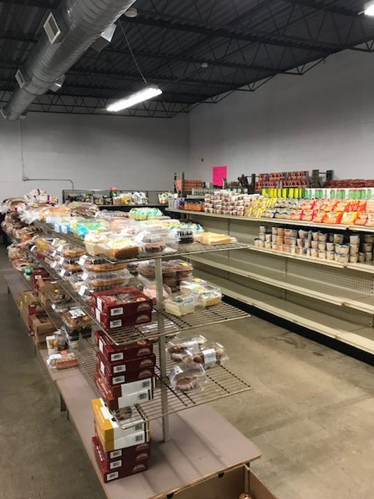 Salvation Army of Manitowoc County food pantry