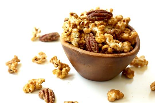 Maple bourbon pecan is Lush Popcorn's most popular flavor.