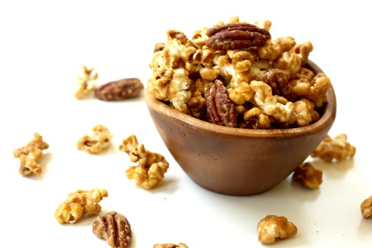 Maple bourbon pecan is Lush Popcorn's most popular flavor.