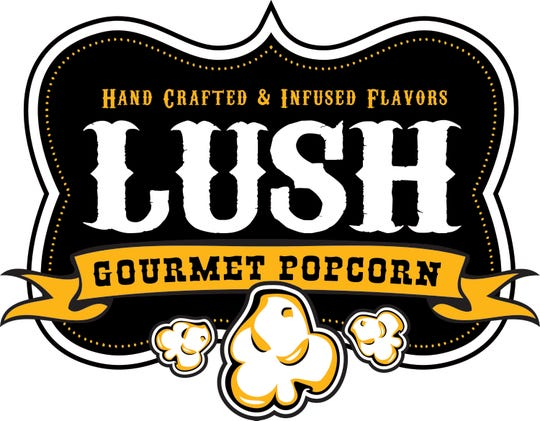 All of Lush Popcorn's products are handcrafted, made a batch at a time. There are about 15 flavors now, and that number is growing.