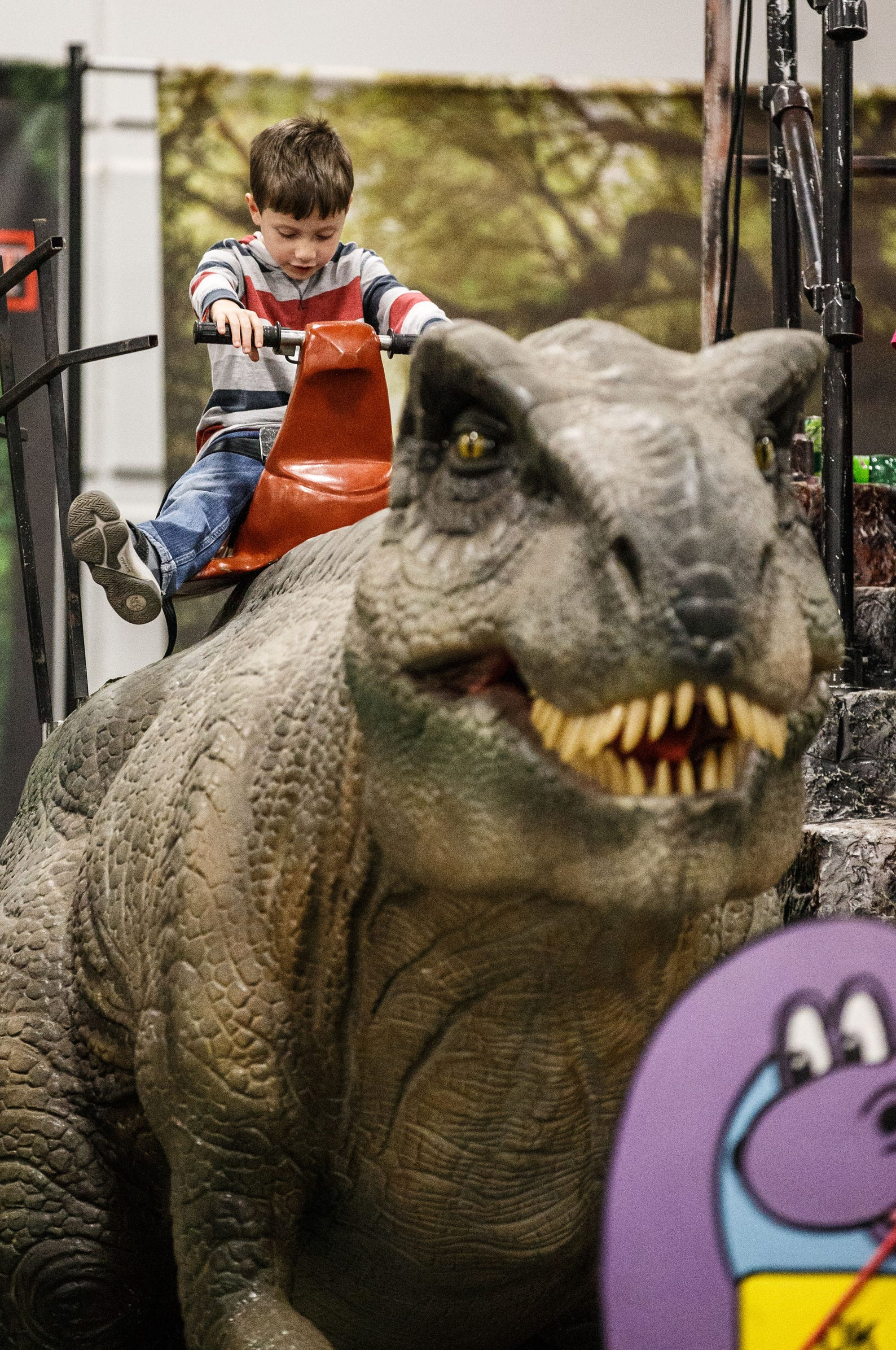 Photos: Jurassic Quest brings dinosaurs to life at State