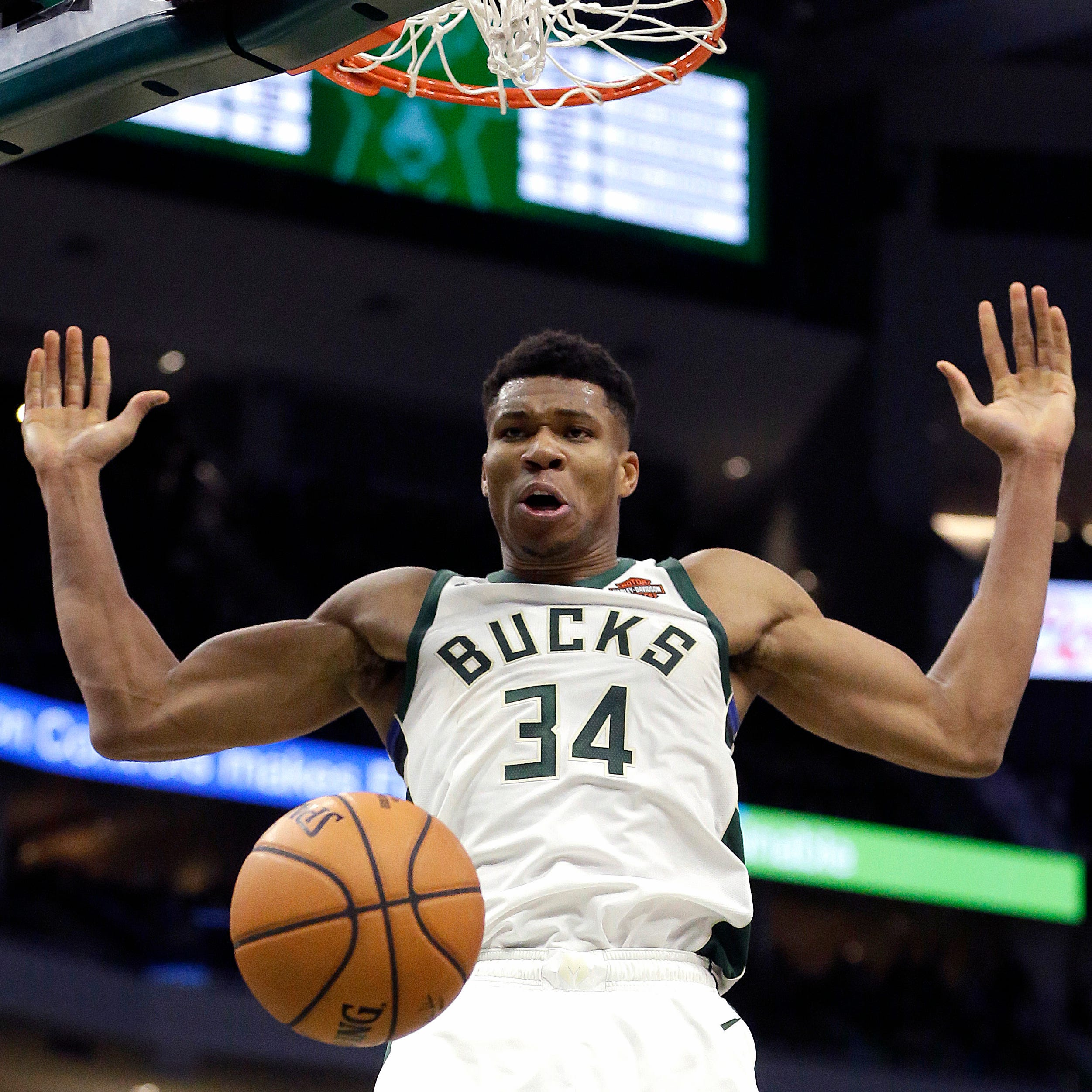 'I'll be a beast out there': Giannis Antetokounmpo putting up big numbers, but just getting started