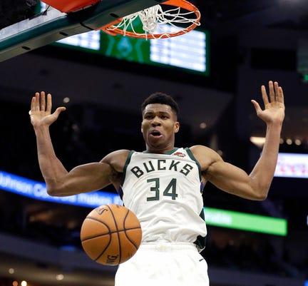 Ap Knicks Bucks Basketball