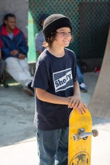 """Sunny Suljic plays a young skateboarder who finds a community in 1990s L.A. in Jonah Hill's """"Mid90s."""""""