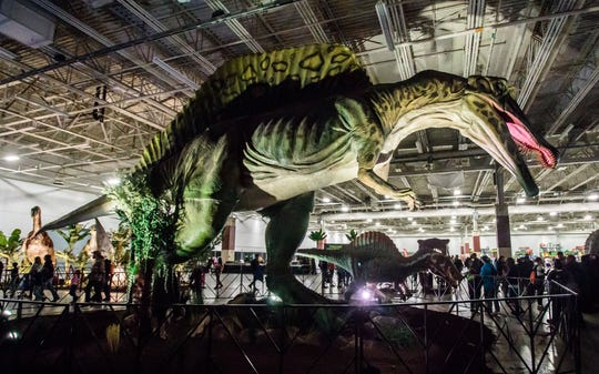 The dinos are back at State Fair Park with the return of Jurassic Quest Friday through Sunday at the Wisconsin Exposition Center.