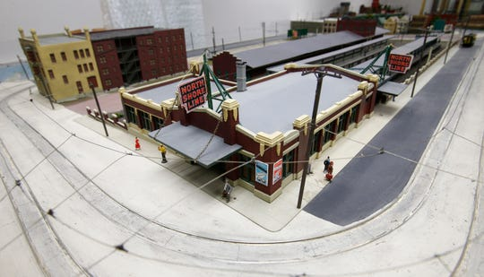 A working miniature replica of the North Shore Line depot that was at 6th Street and Michigan Avenue in Milwaukee will be functioning at the Milwaukee Transit Archives and Museum that will open Nov. 2 at 4763 S. Packard Ave. in Cudahy.